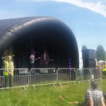 Inflatable Stage Covers